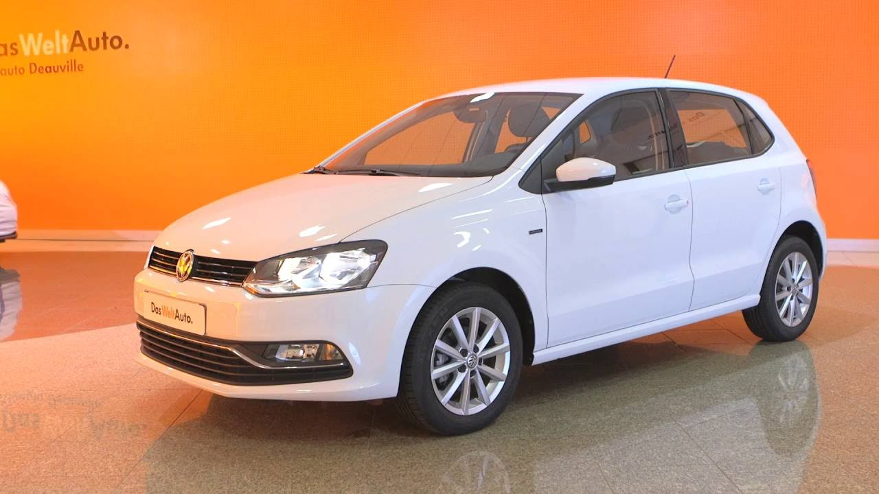 volkswagen polo 1 2 tsi 90 bluemotion technology s rie sp ciale lounge blanc pur youtube. Black Bedroom Furniture Sets. Home Design Ideas