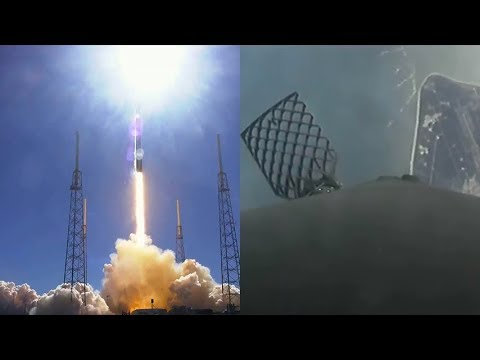 Falcon 9 launches CRS-16 Dragon & Falcon 9 first stage failed landing