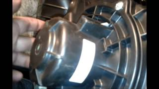 2009 Hyundai Accent fuel air filter, engine air filter and in cab air filter replacement