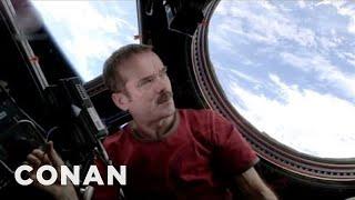 Astronaut Chris Hadfield's