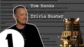 Tom Hanks does an impression of a Dalek from Doctor Who (yes, really).