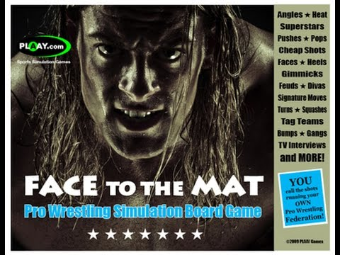 """""""Face to the Mat"""" returning to my own custom womens wrestling leauge"""