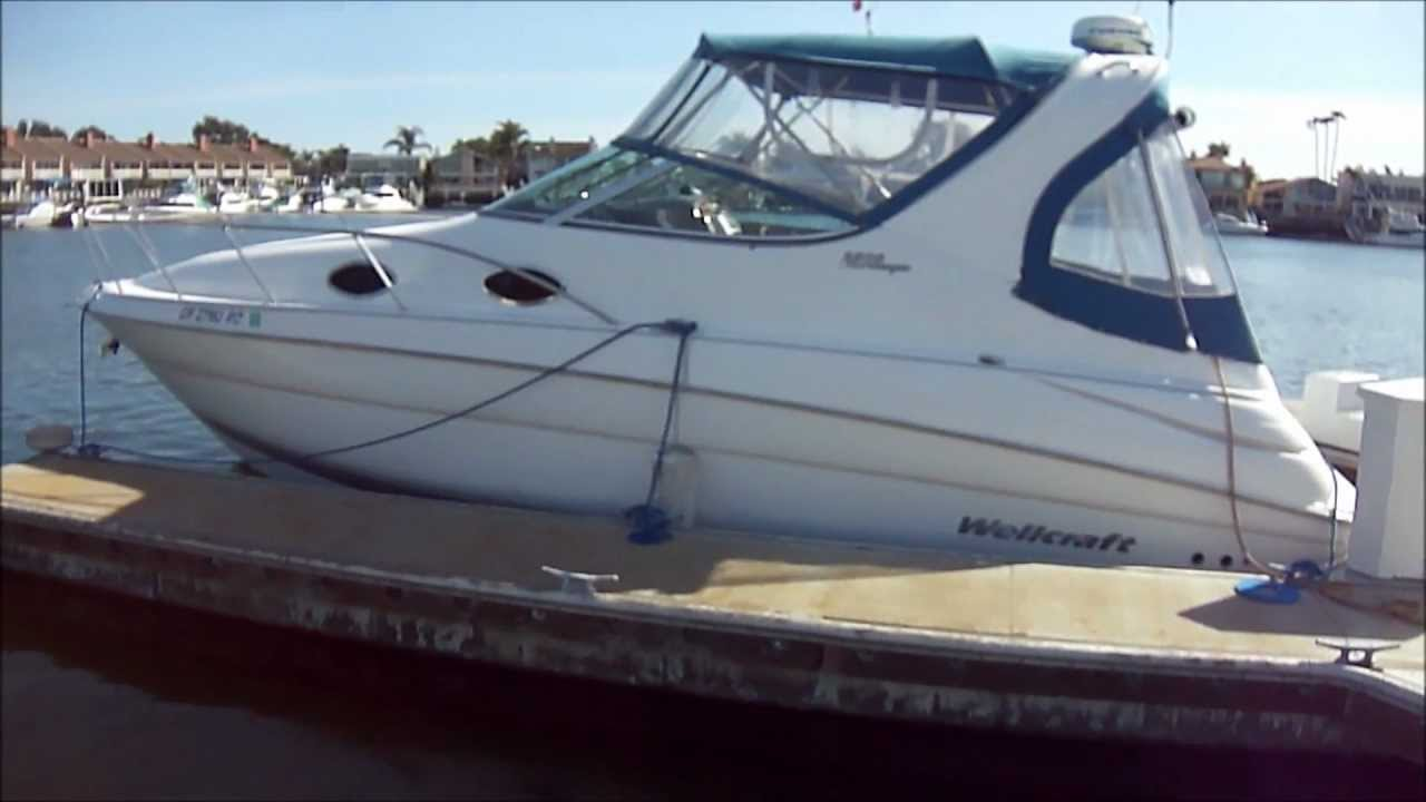 Wellcraft 28 Martinique Boat pit & Engine Compartment Video by South on