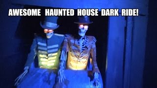 Bla Taget Ghost Train Haunted House Dark Ride Grona Lund Sweden