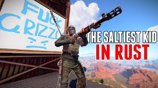 One of Grizzly's most viewed videos: The SALTIEST Boy In RUST!