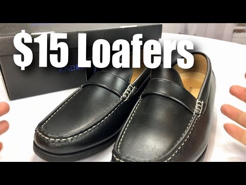 Cheap Andrew Fezza Slip-On Loafer Dress Shoes by TS Brands Review