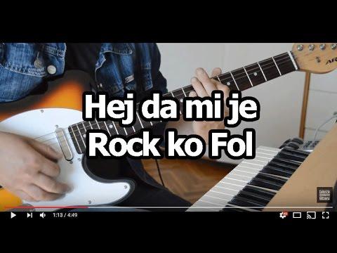 Hej da mi je - Rock ko Fol - cover lesson