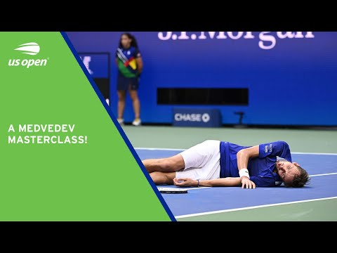 Championship Point   Daniil Medvedev's Title-Winning Moment   2021 US Open