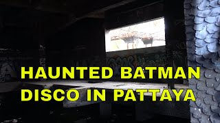 In search for the Haunted Ghost Batman Disco in Pattaya - Bike vlog