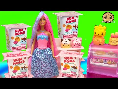 4 Num Noms Surprise Blind Bag Cups Unboxing With Mystery Scented Numnoms - Cookieswirlc