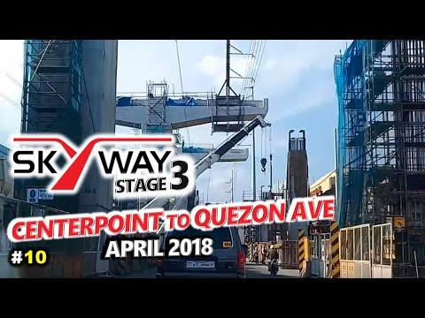 METRO MANILA SKYWAY STAGE 3 Project Update ◈ Aurora Blvd to Quezon Ave, Quezon City ◈ City Tour