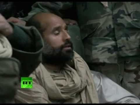 New video of Gaddafi son Saif al-Islam - first hours in capt