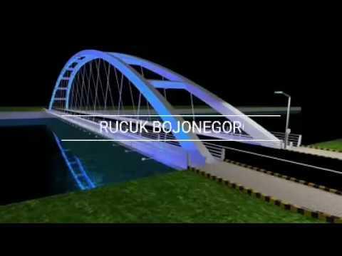 Jembatan Bojonegoro terkeren & tercantik