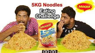 maggi noodles eating competition