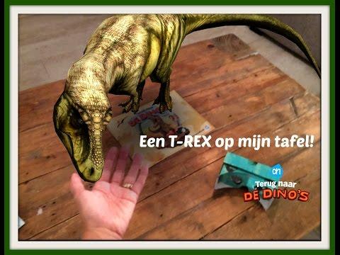 Review: Virtual Reality Bril AH met Dinostickers Spaaractie