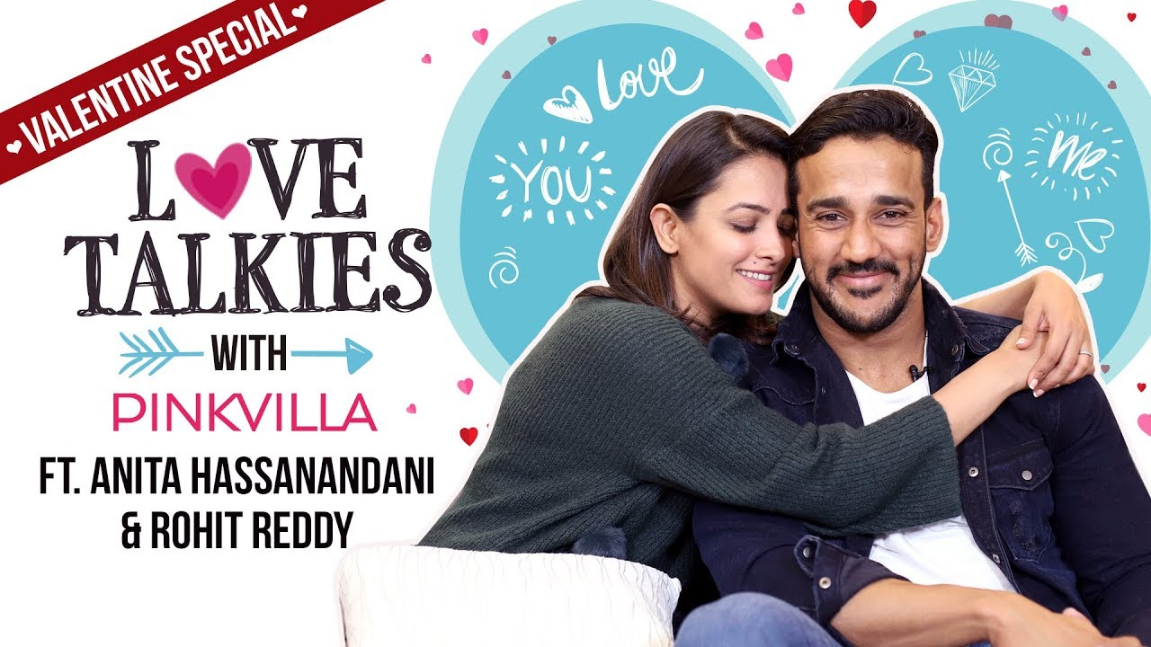 Anita Hassanandani & Rohit Reddy are a millennial couple | Love Talkies | Valentine Special