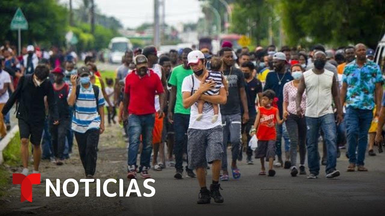 Download Migrantes preparan marcha masiva rumbo a EE.UU. | Noticias Telemundo