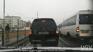 Витебск,поездка на авто.первый снег 26.10.2018.