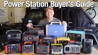 Power Station/Solar Generator Overląnding Buyer's Guide