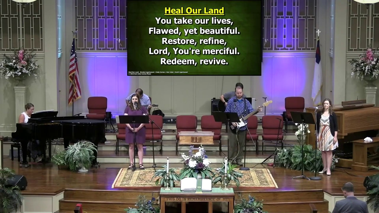 July 12, 2020 Service at First Baptist Thomson [Trimmed], Streaming License 201531172