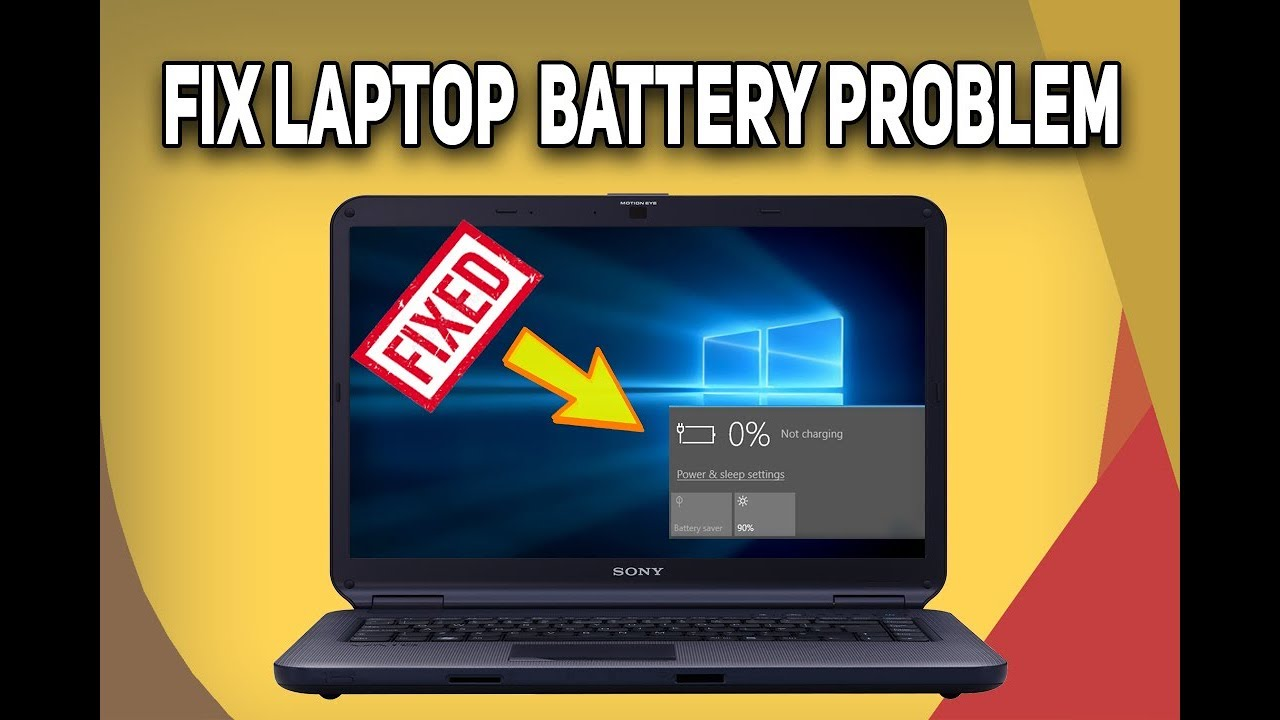 5 Ways to FIX Laptop Battery Not Charging | Laptop Battery Fix 2018 | Tech  Zaada