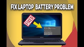5 Ways to FIX Laptop Battery Not Charging | Laptop Battery Fix 2018 | Tech Zaada