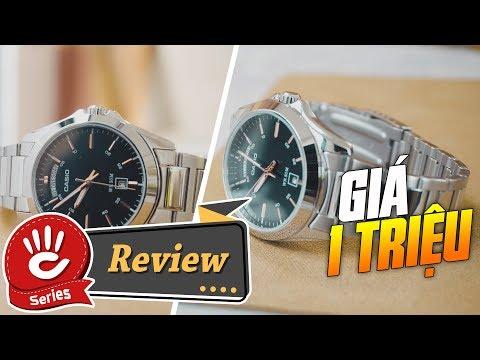 Chỉ 1 Triệu, Chiếc Đồng Hồ Casio Nam Kim Loại MTP-1370D Chính Hãng Giá Rẻ | Casio Review #18
