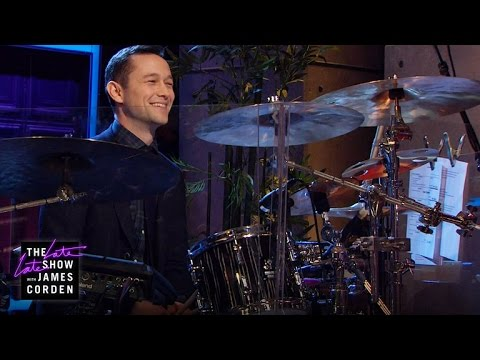 Joseph GordonLevitt Takes Over the Drums