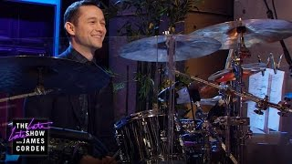 Repeat youtube video Joseph Gordon-Levitt Takes Over the Drums