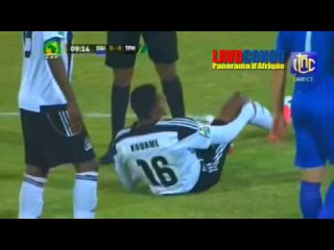 CAF:TP Mazembe 0 Vs 0 SuperSport united (RSA)