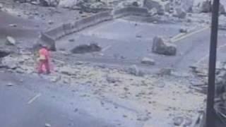 Glenwood Canyon, Colorado: Interstate 70 Rockslide of November 25, 2004