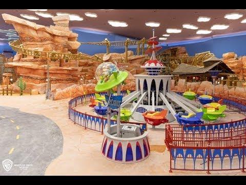 Inside Warner Bros Abu Dhabi - منتزه ورنر برذرز ابوظبي