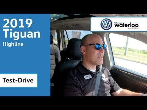 2019 Tiguan Test Drive @ Volkswagen Waterloo