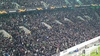Borussia Mönchengladbach Welcome Their Players In The Borussia Park Before Match Vs Roma