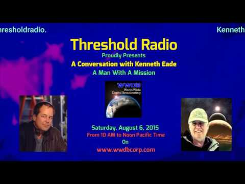 Show 38: Threshold Radio Presents A Conversation with Novelist Kenneth Eade