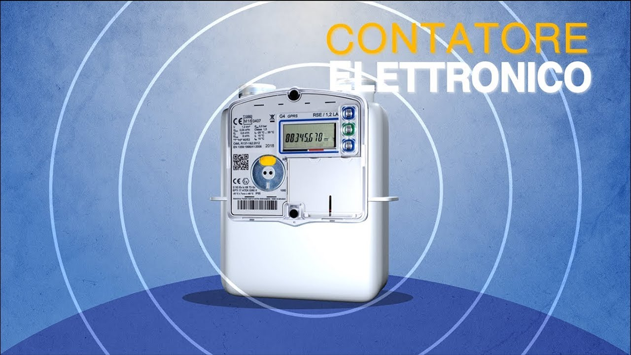 Contatore elettronico Gas: come funziona?
