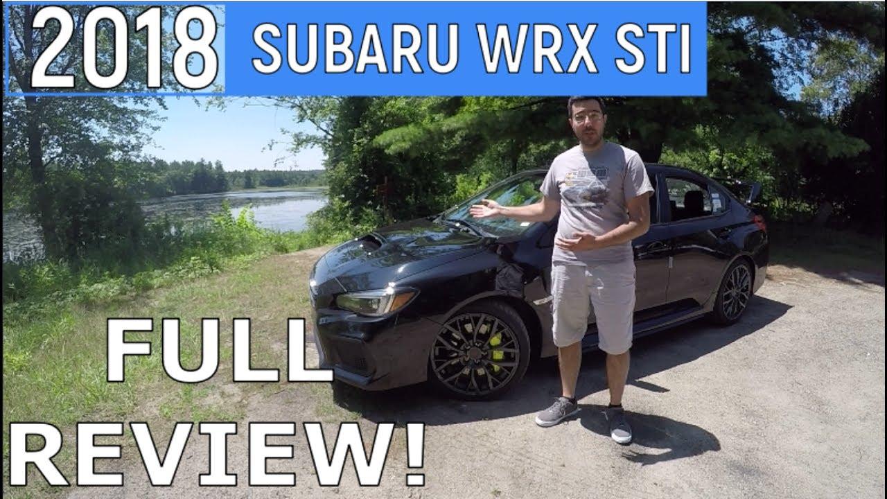 2018 Subaru WRX STI Review Full detailed review with Recaro Seat