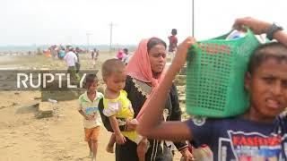 Bangladesh: 'They tortured us a lot' - Rohingya Muslim refugees recount fleeing Myanmar