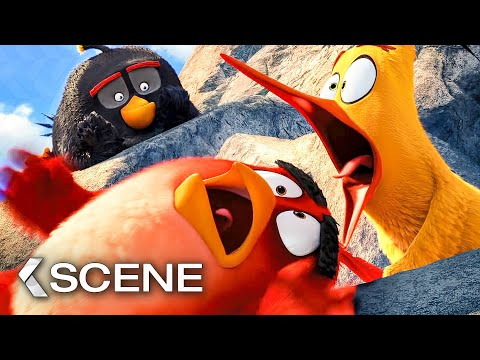 Mighty Eagle Noises Scene The Angry Birds Movie 2016