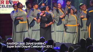 Fantasia at Super Bowl Gospel Celebration 2012