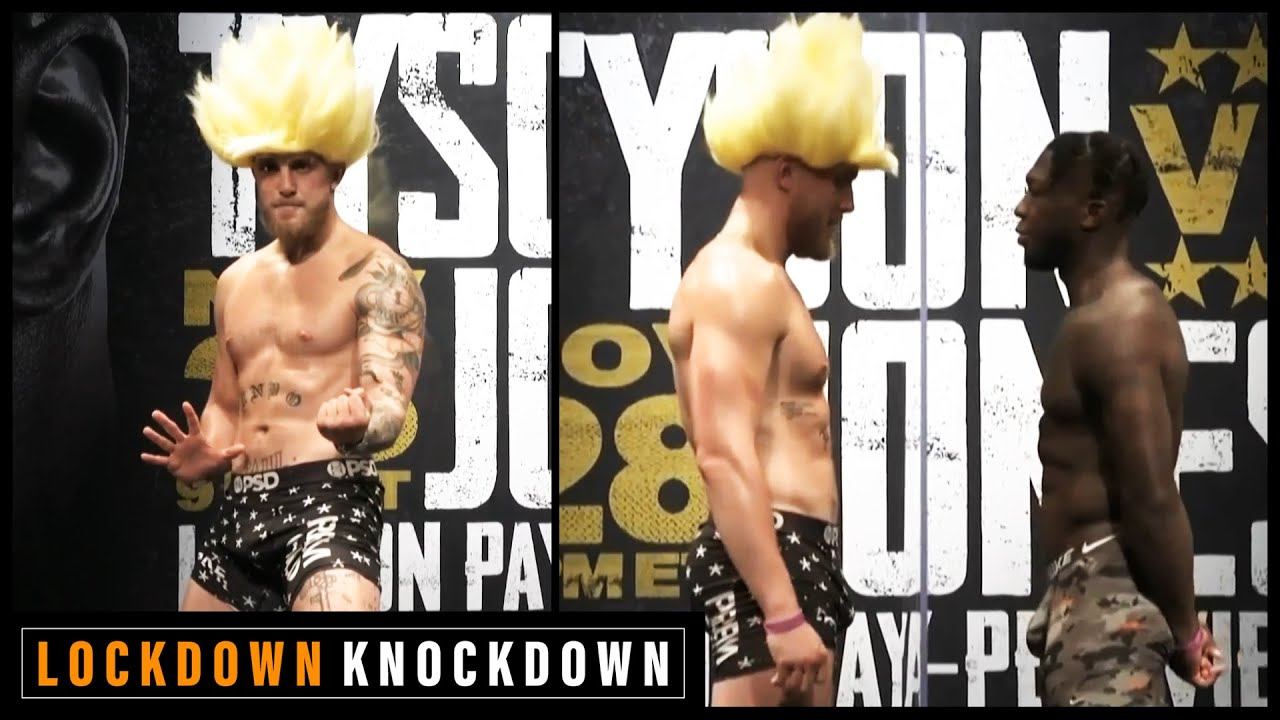 Download Jake Paul and Nate Robinson face-off ahead of Tyson v Jones