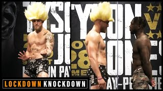 Jake Paul and Nate Robinson face-off ahead of Tyson v Jones