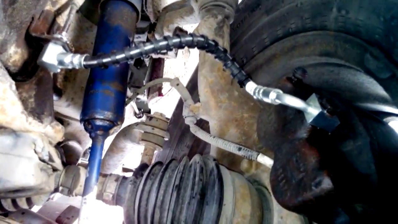 Brake Hose replacement Ford Explorer  YouTube