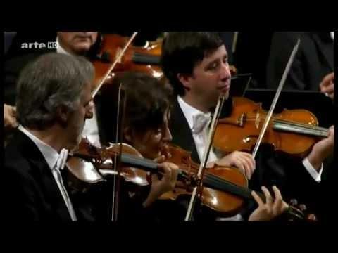 """Gustavo Dudamel and Wiener Philharmoniker. Gioacchino Rossini. Overture to """"La Gazza ladra"""""""