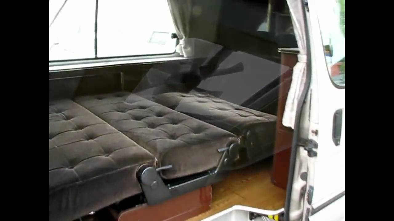 c4f7db0fd4 Toyota Hiace Camper Van by annex noppo conversions Japanese motorhome  import 4x4 3.0 turbo - YouTube
