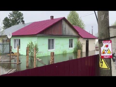 Ситуация с паводком в Пермском крае осложняется с каждым часом, под угрозой памятники архитектуры.