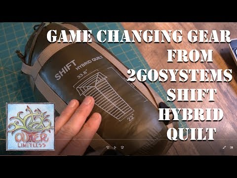 Game Changing Gear from 2GoSystems:  Shift Hybrid Quilt