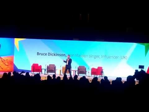 Bruce Dickinson- Zagreb EBANWU Conference(2016-11-29)- Part 1