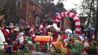Christmas Outdoor Inflatable Extravaganza