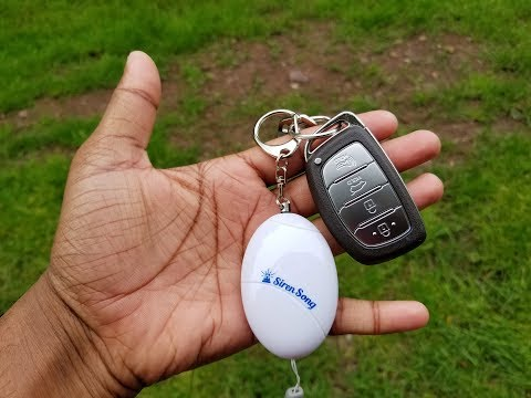 Siren Song Personal Protection Alarm Keychain Review